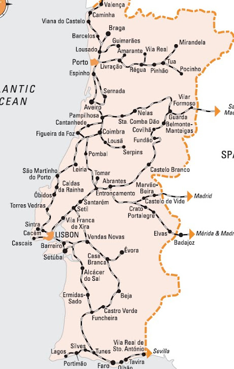 mapa de portugal distancias entre cidades Guia de Coimbra, Portugal | Viagem.decaonline.| Dicas de Viagem mapa de portugal distancias entre cidades
