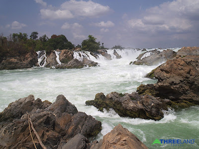 Laos Tours, Laos Travel - Khonphapheng waterfall