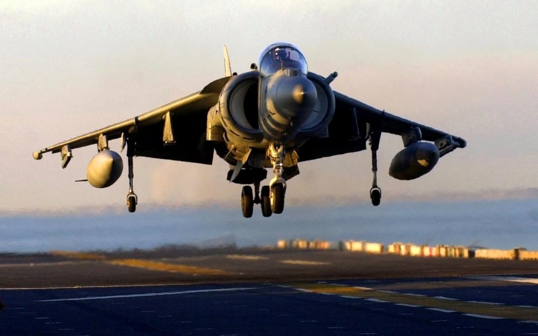 Sea Harrier Jet Fighter Wallpaper 1