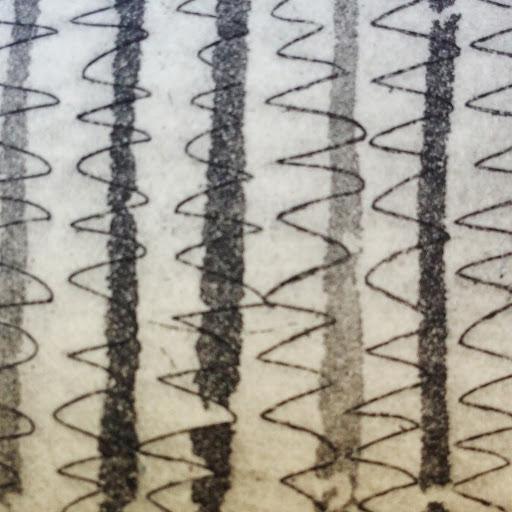 Zig-zag etching