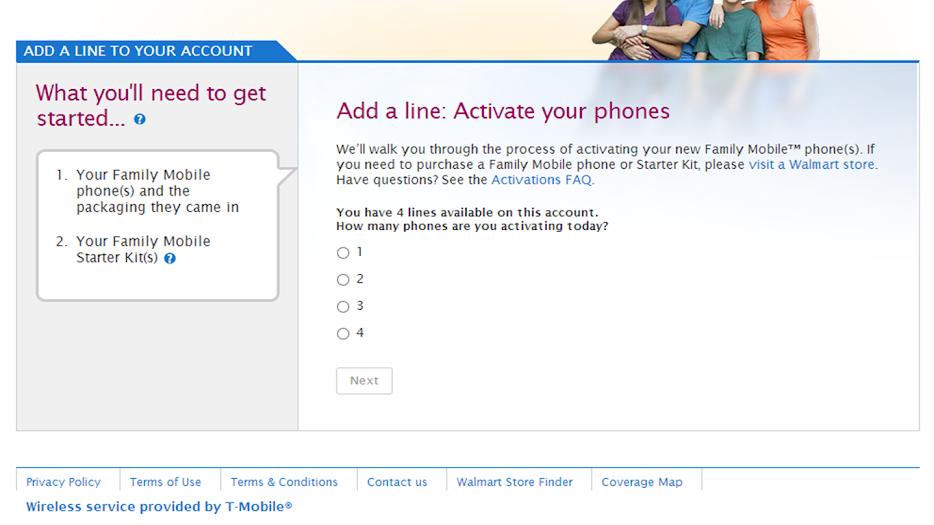 Walmart Family Mobile Online Activation #shop #cbias #FamilyMobileSaves