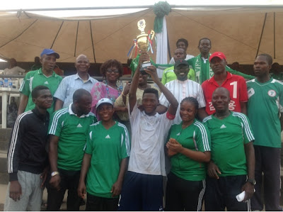 National President Cup: Alfasaria Lagos Champions.