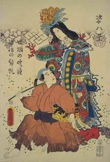 Goddess Toyotama Hime Image