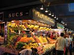 Barcelone: marché de la Boqueria