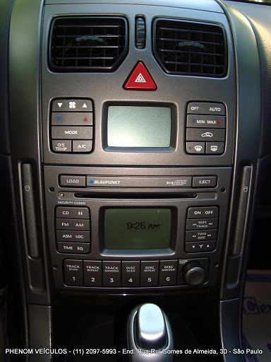 Chevrolet Omega 2004 Blindado - Console central
