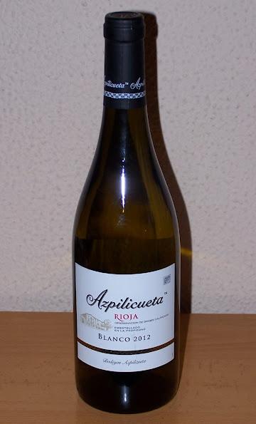 Azpilicueta Blanco 2012, D.o.c. Rioja