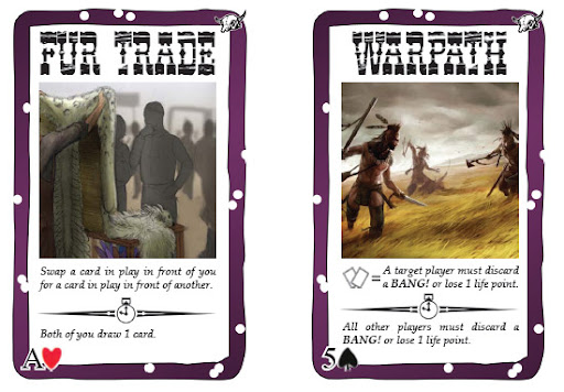 Examples of Purple Cards in Robbers' Roost