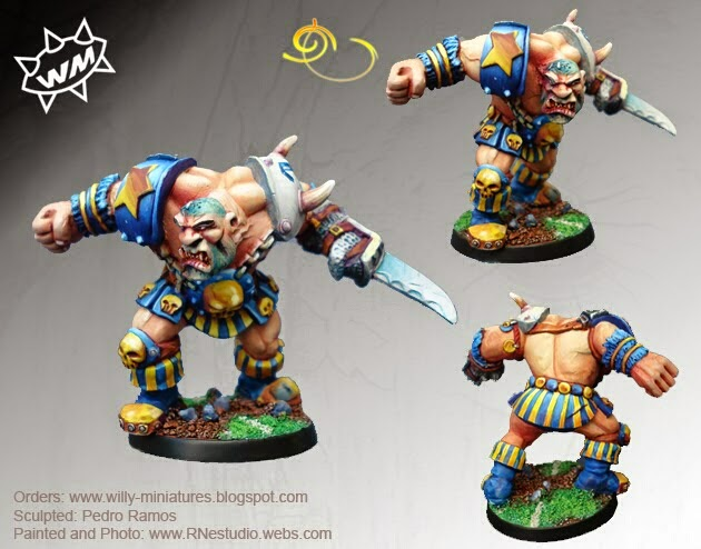Morg'n Thorg Willy Miniatures