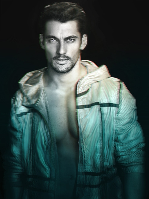 David Gandy @ Select/DNA by Dimitris Theocharis for SCHON mag #16, Spring 2012.  Styled by Eric Down.  [outtake]