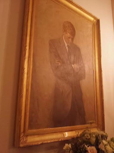 Portrait of JFK, White House. #WHHolidays #WHTravelBloggers