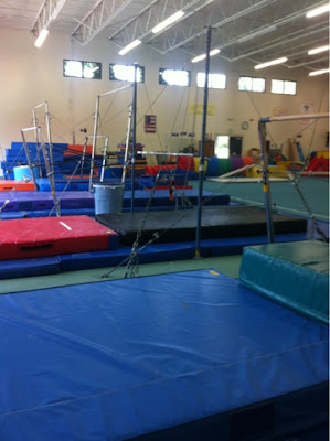 Gymnastics at Mountain Kids in Fort Collins, Colorado www.thebrighterwriter.blogspot.com