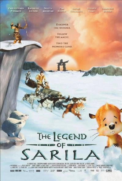 Poster Of English Movie The Legend of Sarila (2013) Free Download Full New Hollywood Movie Watch Online At Alldownloads4u.Com