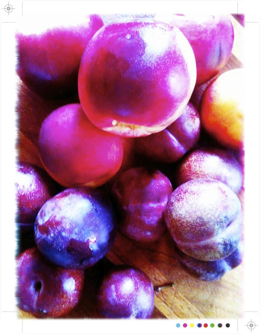 Plum and Peach Crisp, from 101 Cookbooks.