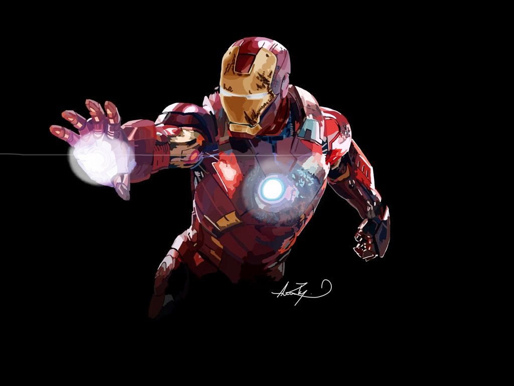 Ironman made with Sketches