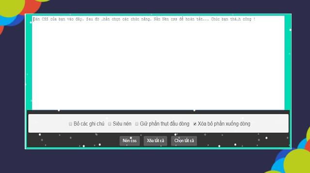 Tạo Trang Nén CSS Dành Cho Blogspot