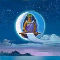 Polynesian Goddess Hina Image