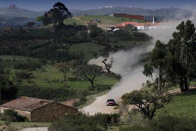 Ogier lider portugal