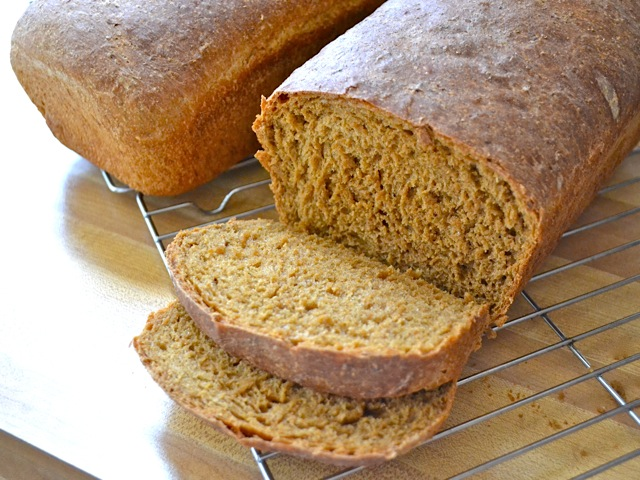 cut oatmeal molasses bread too early