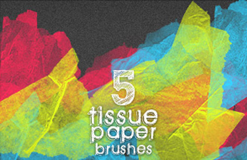 paper photoshop brushes