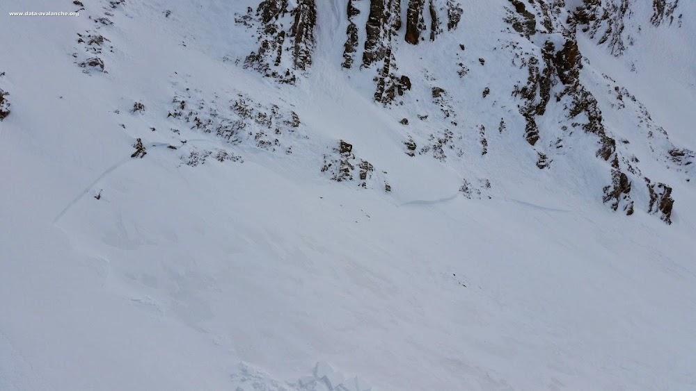 Avalanche Parpaillon, secteur les Orres, Boussolenc - Photo 1