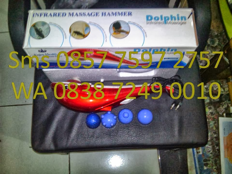 Dolphin Alat Pijat - Jual alat pijat murah Dolphin Infrared Massager harga Grosir. Alat pijat ini dapat mengatasi kelelahan dan melemaskan otot