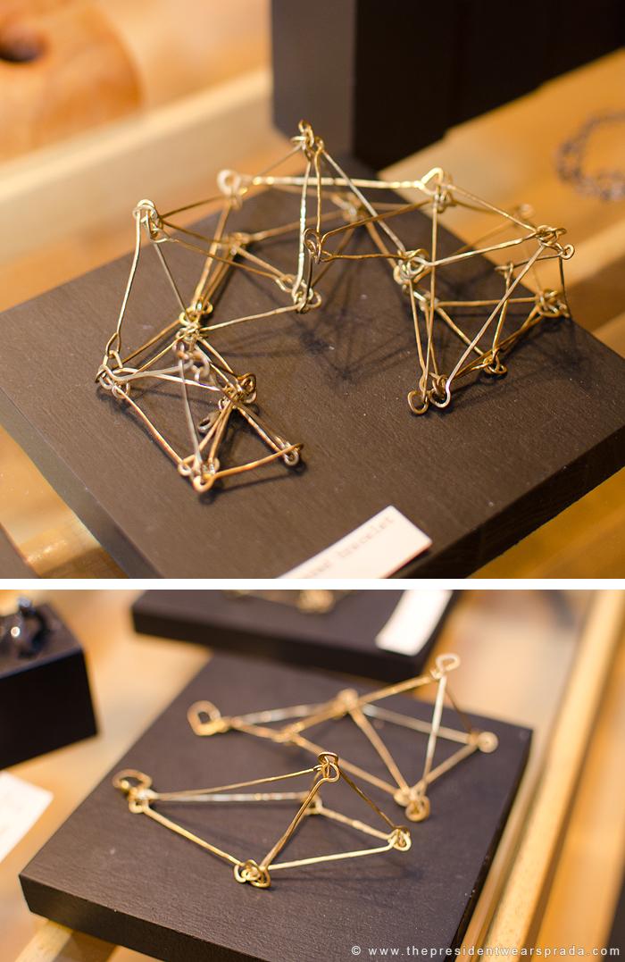 Sculptural Necklaces at Ginger Root Design