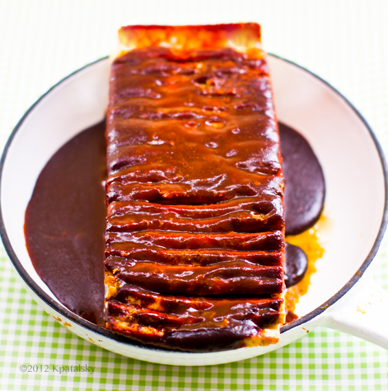 ... Hasselback Potatoes . Well, what about Hasselback Tofu ? BBQ style