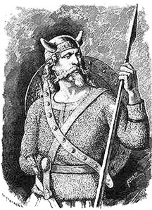 Tiw the ancient German war god whom Teutoburg is named.