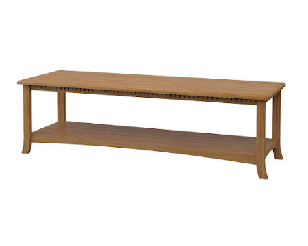 Lisbon Coffee Table in Manor Hickory