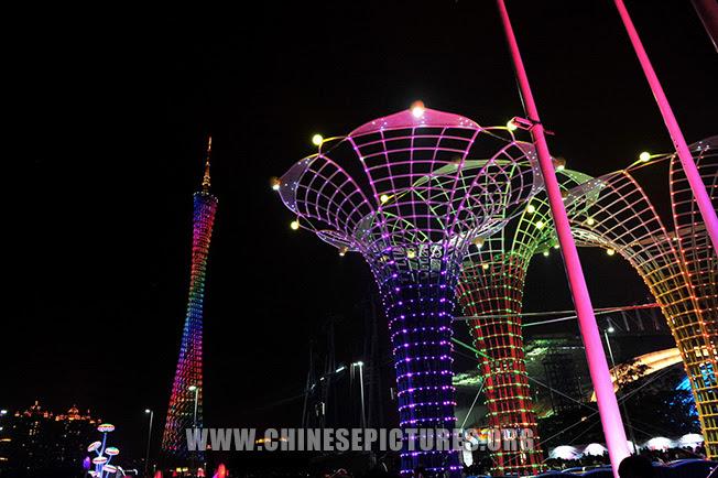 Canton Tower Night Photo 1 2013
