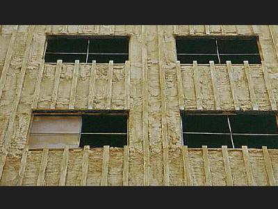 Fnstalación de fachada ventilada Priplastic