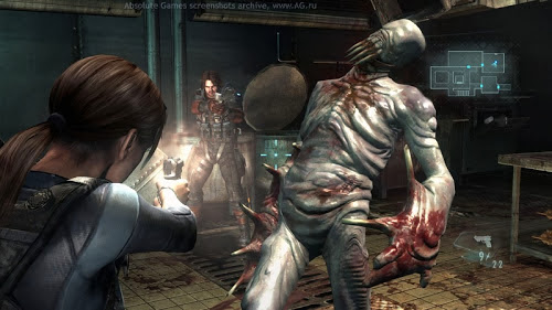Screen Shot Of Resident Evil Revelations (2013) Full PC Game Free Download at Alldownloads4u.Com