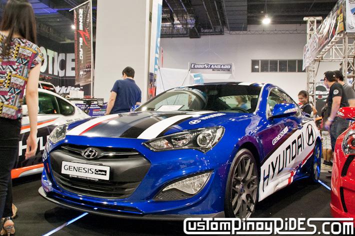 Hyundai Genesis Coupe Body Kit Designs by Atoy Customs 2012 Manila Auto Salon Custom Pinoy Rides pic12