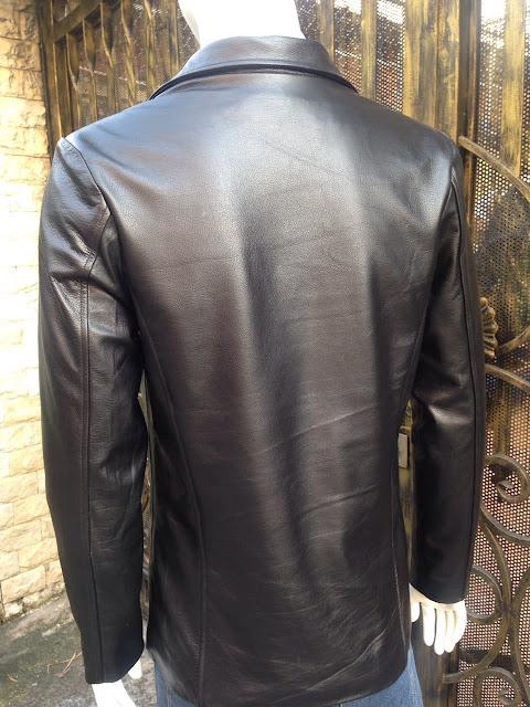 áo da vest nam cao cấp