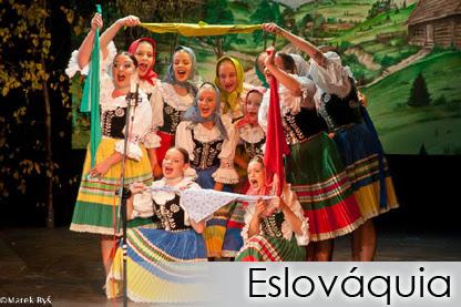 Danças do Mundo 2014 - Eslovaquia