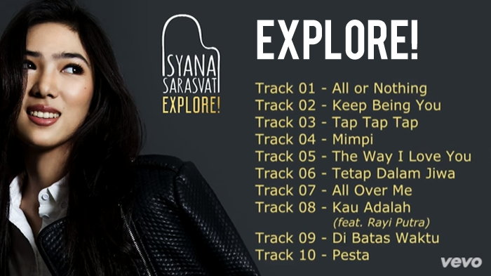Album Perdana Isyana Sarasvati Bertajuk Explore!