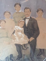Jacob Saum and his Daughters