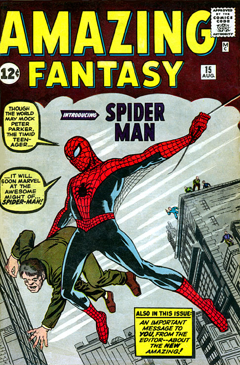 Amazing Fantasy 15 - Spiderman