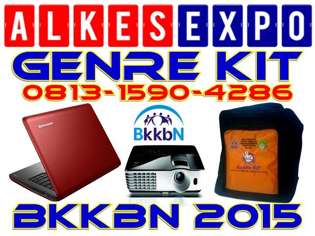 GENRE KIT BKKBN 2015 | ALKES EXPO JAKARTA