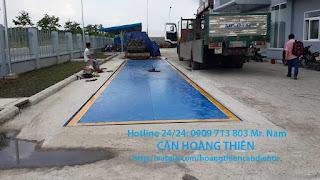 lắp đặt cân xe tải 80 tấn ở Bình Phước