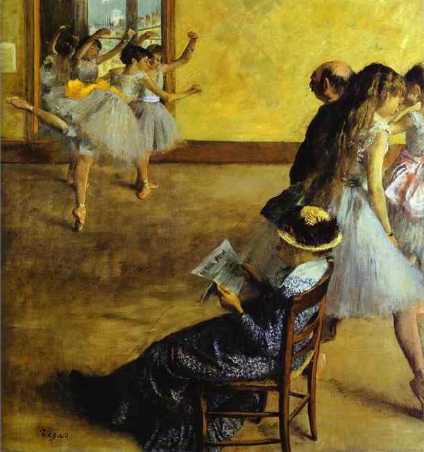 Edgar Degas: pinturas