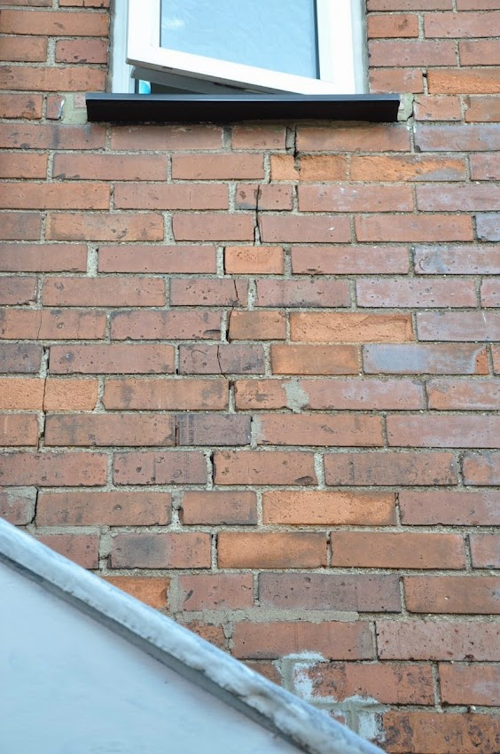 What To Do About This Exterior Brick Wall Crack Page