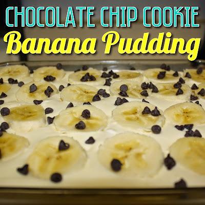 Chocolate Chip Cookie Banana Pudding