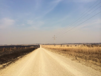 Pasture burning is a common practice in the Flint Hills during spring