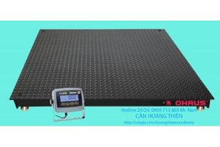 cân sàn điện tử ohaus t31p 10 tấn