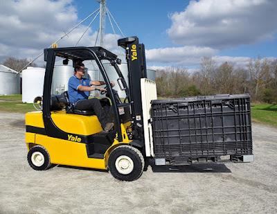 Xe nâng Yale LPG 1.5 - 3.5 tấn