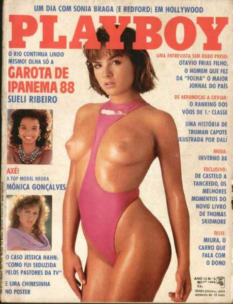 Sueli Ribeiro - Playboy 1988