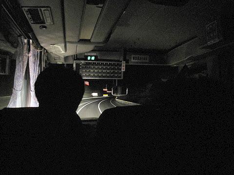 斜里バス「夜の大自然号」 ・・20 車内 その2