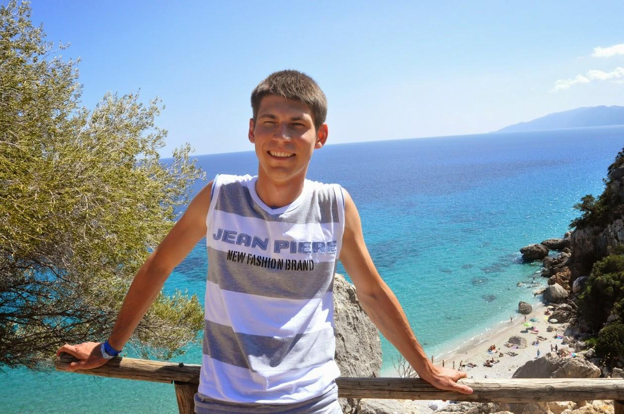 Я на фоне залива Орозеи