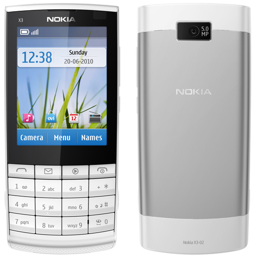 nokia x3 touch and type pictures. Nokia X3-02 quick review.